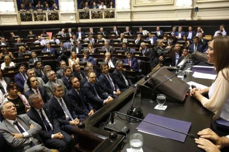 La Legislatura vuelve al ruedo con la Ley de Obras Pública reclamada por Vidal. Apertura de sesiones 2017.