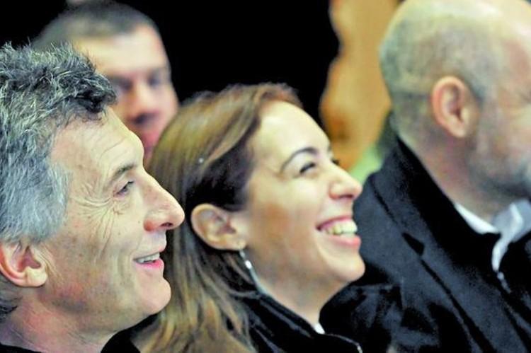 Macri, Vidal y Larreta tendrán su primer acto en un estadio de fútbol para poner en marcha el SAME . Macri, Vidal y Larreta.