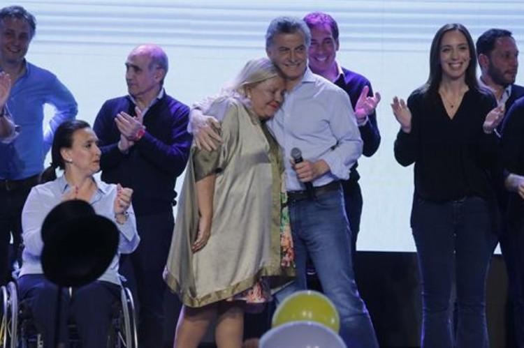 Macri festejó en Costa Salguero y criticó a la oposición.