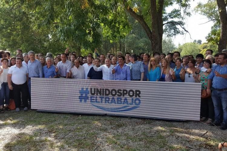 El PJ forzó la foto de unidad: apoyo a la CGT y a los docentes en el cónclave de San Vicente. Cumbre del PJ en San Vicente.