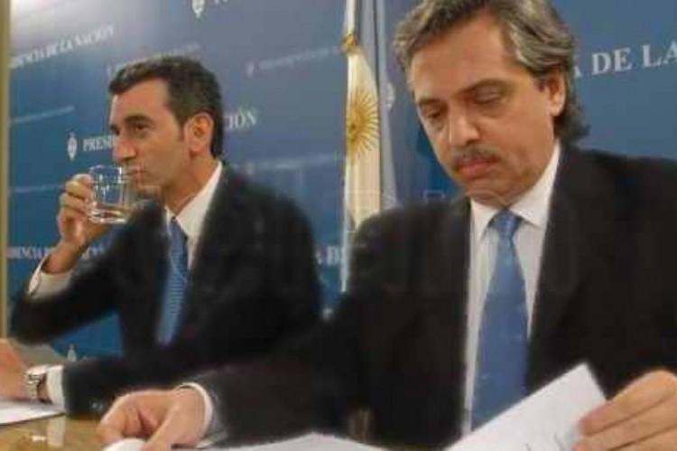 La interna del PJ bonaerense avanza: Randazzo dice que el martes presenta sus avales para las PASO. Randazzo y Fernández.