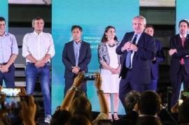 """El presidente Fernández, en el lanzamiento del programa """"Argentina Unida por Educación y Trabajo"""""""