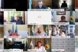 El gobernador Kicillof analizó la situación epidemiológica con intendentes y el Comité de Expertos