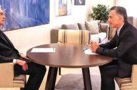 El presidente Mauricio Macri anunció que su compañero de fórmula será Miguel Pichetto