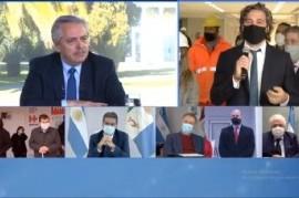 -EN VIVO- El presidente Fernández, en acto virtual de inauguración de un hospital en La Matanza