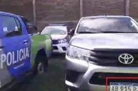 Merlo: Policías aseguran que el intendente Gustavo Menéndez se quedó con sus camionetas