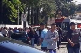 Jóvenes armados entraron a una escuela en Brasil y provocaron una tragedia