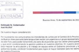 Ahora, intendentes de Juntos por el Cambio le piden a Kicillof dinero de la coparticipación