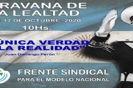 17 de octubre: Moyano cambió la movilización callejera por una caravana vehicular hacia el Obelisco