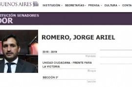 Al senador Jorge Romero le dicen EL LOCO y no lo es: no renunció, no va a las sesiones y cobra igual