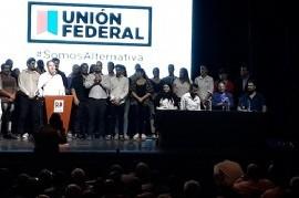 Se presentó en sociedad Unión Federal bonaerense, que quedó bajo la conducción de Fernando Rozas