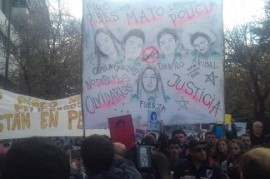 """La Masacre de San Miguel del Monte tuvo su marcha de repudio en La Plata contra el """"gatillo fácil"""""""