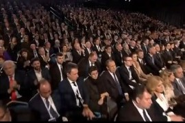 EN VIVO: el presidente Fernández participa de la ceremonia central del V Foro Mundial del Holocausto