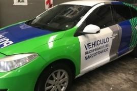 Encuentre las diferencias: Patrulleros de Verónica Magario vs Vehículos Recuperados del Narcotráfico