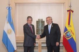El Presidente, en Perú: junto a su par de Ecuador anheló una América Latina unida