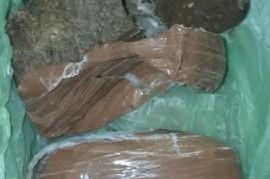 La Plata: arrojaron un paquete con marihuana por arriba del muro de una cárcel de mujeres