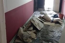 Sigue la bronca por un incendio intencional en el Palacio Municipal de Lanús
