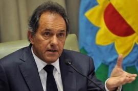"""Ahora, Scioli: piden elevar a juicio oral la causa por """"dádivas"""" contra el ex gobernador bonaerense"""