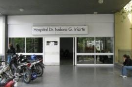 El quirófano de la maternidad del Hospital de Quilmes, en terapia intensiva