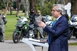"""Tras presentar el plan de Seguridad, Fernández dijo que será """"implacable"""" contra la delincuencia"""