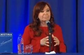 """Cristina Fernández de Kirchner, en La Plata: """"Si el Gobierno hacía las cosas bien, no ganábamos"""""""