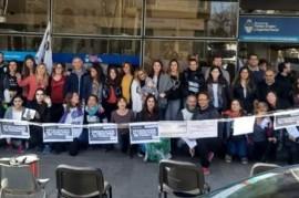 """""""Degradación"""": reclamo en La Plata por el pase de Ministerio a Secretaría de Trabajo de la Nación"""
