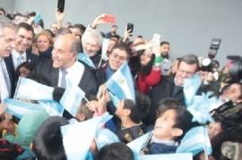 """De visita en Tucumán, Alberto Fernández dijo que quiere ser """"el Presidente que una a los argentinos"""""""