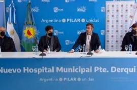 -EN VIVO- Pilar: el gobernador Axel Kicillof, participa de la inauguración del hospital de Derqui