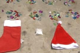 """""""Narcofamilia Navideña"""": vendían drogas en botitas y gorros de Papá Noel"""
