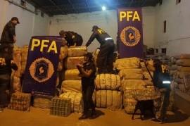 Salta: en un nuevo golpe al contrabando, secuestraron mercadería ilegal y detuvieron a una persona