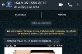 Magdalena: les robaron plata mediante un engaño telefónico y el ladrón les pidió perdón por Whatsapp
