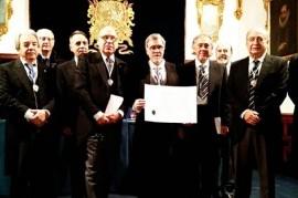 El platense Guillermo Pilía, único miembro de América Latina en Academia de Buenas Letras de Granada