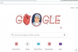 """Del barrio """"El Mondongo"""" al mundo: Google homenajea a René Favaloro a 96 años de su nacimiento"""