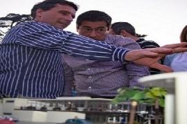 San Miguel: el candidato a intendente Franco La Porta presentó el nuevo proyecto Ferroautomotor