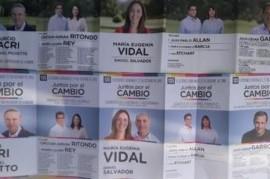 El juego de las diferencias en las boletas de Juntos por el Cambio: volvió Daniel Salvador