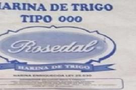 """Prohibieron en todo el territorio bonaerense a """"Rosedal"""", harina elaborada por Molino Suipacha S.A."""