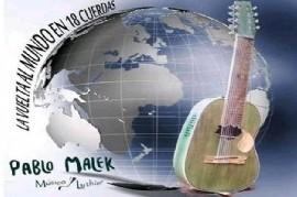 El músico y luthier platense Pablo Malek cierra el año en su ciudad con invitados y sorpresas