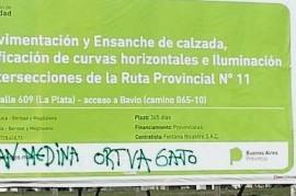 """Pintadas intimidantes y """"llamados a empresas desde la Intervención"""" suman tensión en UOCRA La Plata"""