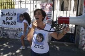 AUDIO: Conmovedor testimonio de la mamá de Renzo luego de la audiencia en el fuero penal