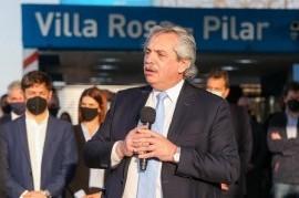 """El presidente Alberto Fernández aseguró que """"la economía argentina empezó a moverse"""""""