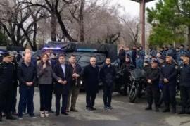 """""""Operativo Motochorros"""": la gobernadora Vidal puso en marcha nuevos controles para combatir delitos"""