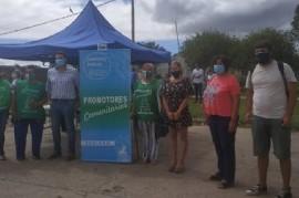 Berisso: realizaron jornada de Organización Comunitaria en el Operativo DetectAr de Barrio Obrero