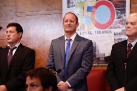En el discurso de apertura de sesiones del Concejo, Insaurralde anunció el lanzamiento de Eco Lomas
