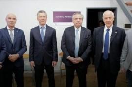 Un punto para el anecdotario de Macri: fue el primer presidente argentino en participar de un debate
