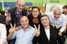 Máximo Kirchner se reunió con referentes de Unidad Ciudadana de la Tercera Sección Electoral