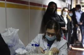 11-11-2020 // Coronavirus: el Gobierno nacional confirmó 348 muertes y 10.880 nuevos contagios
