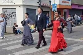 Berisso: Un Vicecónsul rompió el protocolo y desfiló en la Fiesta Provincial del Inmigrante