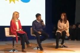 """Axel Kicillof cerró su campaña junto a Cristina Kirchner: """"En la provincia necesitamos producción"""""""