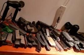 Encontraron un arsenal en la casa de Mauricio Yebra, el socio del sindicalista preso Marcelo Balcedo
