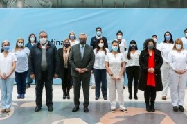 Jerarquización de la enfermería: el presidente Fernández presentó el proyecto de ley